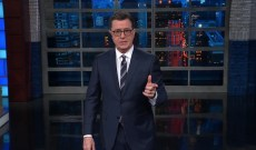 Watch Colbert Pan Trump's Wild Russia Investigation Theories, 'SNL' Attacks